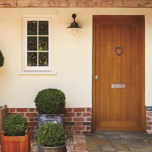 Timber Front Entry Doors: BMT Glass & Glazing